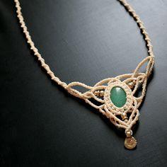 New macrame necklace with aquamarine stone, sold by @anandajewelryart  #macramé #macramejewelry #macramenecklace #macramehandmade #handmademacrame #madeintheholyland #handmadejewelry #macramecreations #micromacrame #macramechoker #collier #macramediy #macramewithstone #hippiejewelry #gypsyjewelry #festivaljewelry #naturepartynecklaces #partynecklace #tribalnecklaces #tribaljewelry #macrametribal #tribalmacrame #handmadenecklace #מקרמה # שרשרת מקרמה #תכשיטימקרמה #מקרמהעבודתיד   @anandajewelryart