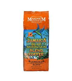 Magnum Coffee Whole Bean Jamaican Blue Mountain Blend 32 Ounce * Check out the image by visiting the link. (This is an affiliate link) #RoastedCoffeeBeans