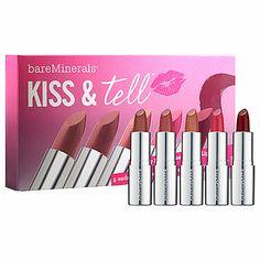 bareMinerals - Kiss & Tell -  #sephora