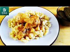 Domáce maslové halušky. Parádna príloha k pokrmom z mäsa.🥣 - YouTube Homemade Butter, Gnocchi, Risotto, Macaroni And Cheese, Side Dishes, Healthy Recipes, Meat, High Pictures, Ethnic Recipes