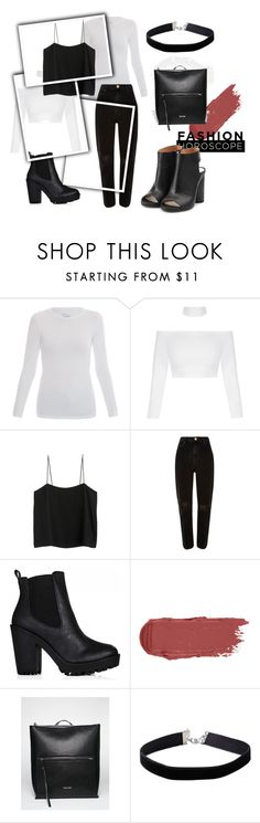 """""""098"""" by alena-mendesh on Polyvore featuring мода, Majestic, River Island, Calvin Klein, Miss Selfridge и Maison Margiela"""