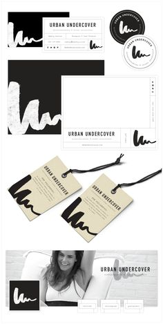 Brand Launch: Urban Undercover - Salted Ink Design Co. : Salted Ink Design Co. Brand Identity Design, Graphic Design Branding, Graphic Design Posters, Corporate Design, Brochure Design, Advertising Design, Web Design, Print Design, Design Graphique