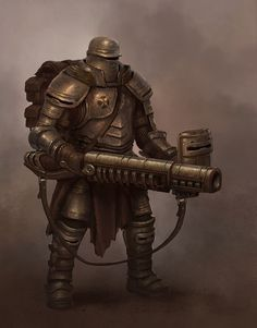 Tagged with art, armor, knight, character art; Knights Return of KNIGHT Character Inspiration, Character Art, Character Concept, Armor Concept, Concept Art, Bazar Bizarre, Sci Fi Armor, Pulp, Sci Fi Characters