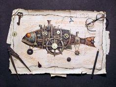 12-Vladimir-Gvozdev-Surreal-Steampunk-Animal-Drawings-www-designstack-co