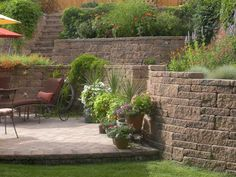 Retaining walls can make your backyard bigger and more functional