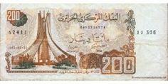 Billet de 200 Dinars Algérien..f2