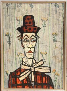 Lithograph Tete de Clown