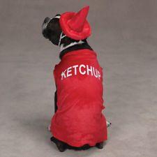 Casual Canine KETCHUP Dog Halloween Costume XS - XL  #eBay #Halloween