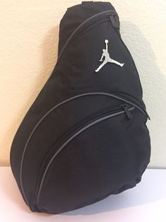 e890d0f12802a8 Nike Air Jordan 23 Backpack Sling Jumpman Bag Gym Black Graphite for sale  online