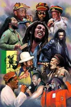 Reggae Art, Reggae Music, Arte Bob Marley, Rhythm Art, Rasta Art, Bob Marley Pictures, Dancehall Reggae, Black Art Pictures, Black Love Art