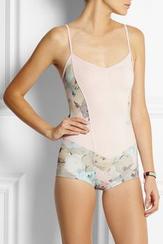 Pretty, simple and like a bathing suit. For those who feel super comfortable in their body.