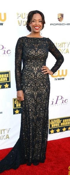 ec0c1022d890 Aisha Tyler Critics Choice Movie Awards 2014 Critic Choice Awards