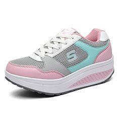 Beita Damen Atmungsaktiv Lace Up Low Top Sneaker Platform Sport Schuhe Frauen Footwear - http://on-line-kaufen.de/beita/beita-damen-atmungsaktiv-lace-up-low-top-sneaker