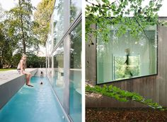 Villa Roces by Belgian architects Govaert  Vanhoutte. I like the swimming pool and the long rectangular form (50 meters).