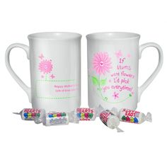 Mothers Day Gift Ideas - Personalised I'd Pick You Mug - £8.99