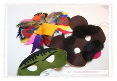 DIY Halloween Crafts : 4 Easy DIY Halloween Masks