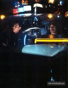 Blade Runner - Publicity still of Harrison Ford & Edward James Olmos