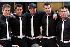 NKOTB have brought me back to when I was 13 and I'm loving reliving my teen years (the good ones that is);)