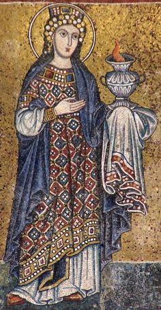Byzantine Art - 13th century mosaic