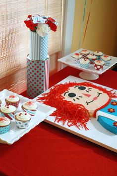 wicked awesome weigands: a very raggedy ann birthday party