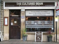 The Cultured Bean is an Award winning coffee shop in Ramsbottom Rossendale serving a great menu of local produce, coffees & teas from across the world & delicious cakes & desserts. Chocolate Torte, Teas, Yummy Cakes, Coffee Shop, Merry, Drinks, Places, Desserts, Food