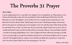 Proverbs 31 Prayers (and printables) – Sisters on Our Knees