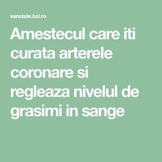 Amestecul care iti curata arterele coronare si regleaza nivelul de grasimi in sange Coron, Good To Know, Herbalism, Cancer, Health Fitness, Math Equations, Cholesterol, Allergies, Therapy
