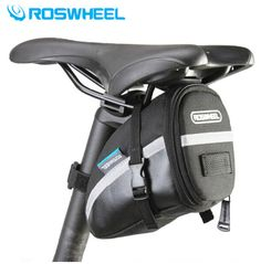 ROSWHEEL Cycling Bag Bike Seatpost Bag Pouch Ciclismo Seat Saddle Rear Tail Bag