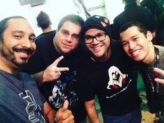 Disfrutando de buena compañía en #labatalladearcadia #PuertoRico #gaming #gamers