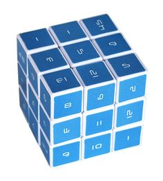 Pi, triangle series, prime numbers, magic square, fibonacci sequence, and digits of E!!!!!The Magic Cube Mathematic 3D Logic Puzzle