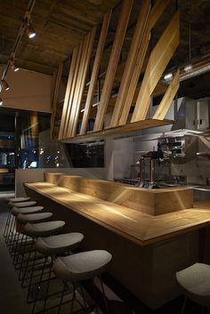 sushi bar design rh pinterest com