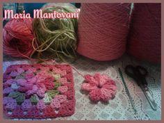 Crochetando com Maria Mantovani: Jogo de banheiro em tons de rosa..projeto em…