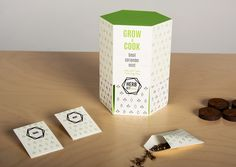 find out this creative #HERB #packaging KITchen on Behance