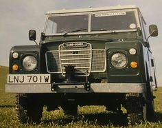 Land Rover Series III 2.25 petrol 88 Hard Top 1981 with capstan winch