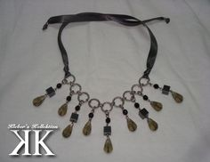 metallic tones necklace