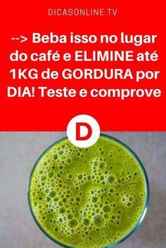 Emagrecer 1 kg por dia   --> Beba isso no lugar do café e ELIMINE até 1KG de GORDURA por DIA! Teste e comprove   Essa receita super simples contém apenas dois ingredientes.