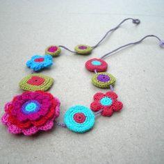 collares crochet - Cerca amb Google