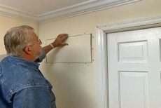 Click to Play Video  How to fix the track for a pocket door