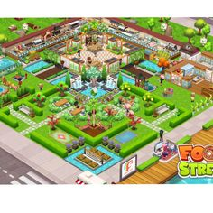 #FoodStreetGame Food Street Game, Restaurant Design, Games, Pictures, Beautiful, Gaming, Toys, Plays, Resim