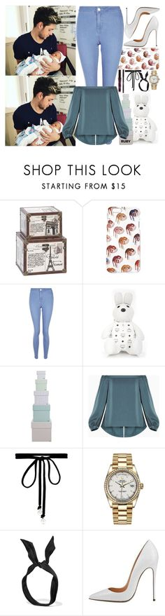 """With Niall And Ruby"" by angelbrubisc ❤ liked on Polyvore featuring Home Decorators Collection, New Look, MCM, HAY, BCBGMAXAZRIA, Joomi Lim, Rolex and yunotme"