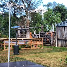 Sarah + Scott's wedding, Dundullimal Dubbo, April 2015, mink + me Bar made from old pallets, made by the groom