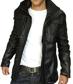 The Bombay Leather Co Brown Distressed Leather Jacket Men Pure Lambskin Size XS S M L XL XXL Custom Made