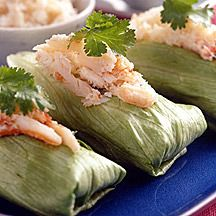 Avocado-Seafood  Spring Rolls. Weight Watchers Points Plus 3