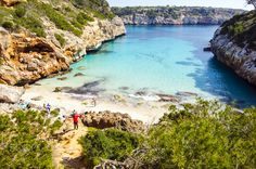 "Mallorca Top 5 Attractions: The Caves of Drach - The Caves of Drach (lit. ""Dragon caves"") are four great caves that are located in the island of Majorca. Cala, Winding Road, Crystal Clear Water, Majorca, Sea Level, Mediterranean Sea, Sunny Days, Attraction, Places To Visit"