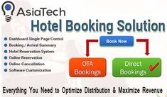 Make Hotel Booking Easy With Online Front Office Systems  A Complete Online Hotel Booking Solution, Customized Hotel Booking Engine with Integrated Payment Gateway system that help to enhance your travel business and increase your hotel booking.  Quick Pay Portal : OTA Price Comparison : Live Inventory System  For More deatails visit at https://www.asiatech.in/ or call us 9654130894, 7840800800.