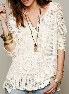 Crochet Free Pattern Women Charts 65 Ideas For 2019 Cute Crochet, Crochet Top, Crochet Mignon, Knitting Patterns, Crochet Patterns, Boho Fashion Summer, Summer Knitting, Crochet Summer, Pulls