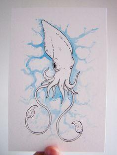 Squid by bensigas on DeviantArt
