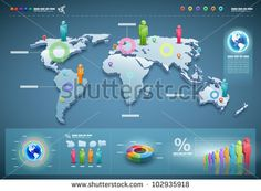 World map vector 25xeps brushes vectors pinterest gumiabroncs Images