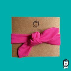 faixa turbante laço pink