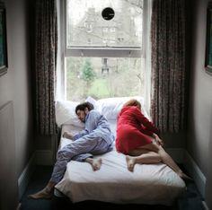 sleeping couple..
